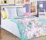 Детский комплект постельного белья Бамбино «Красотки»